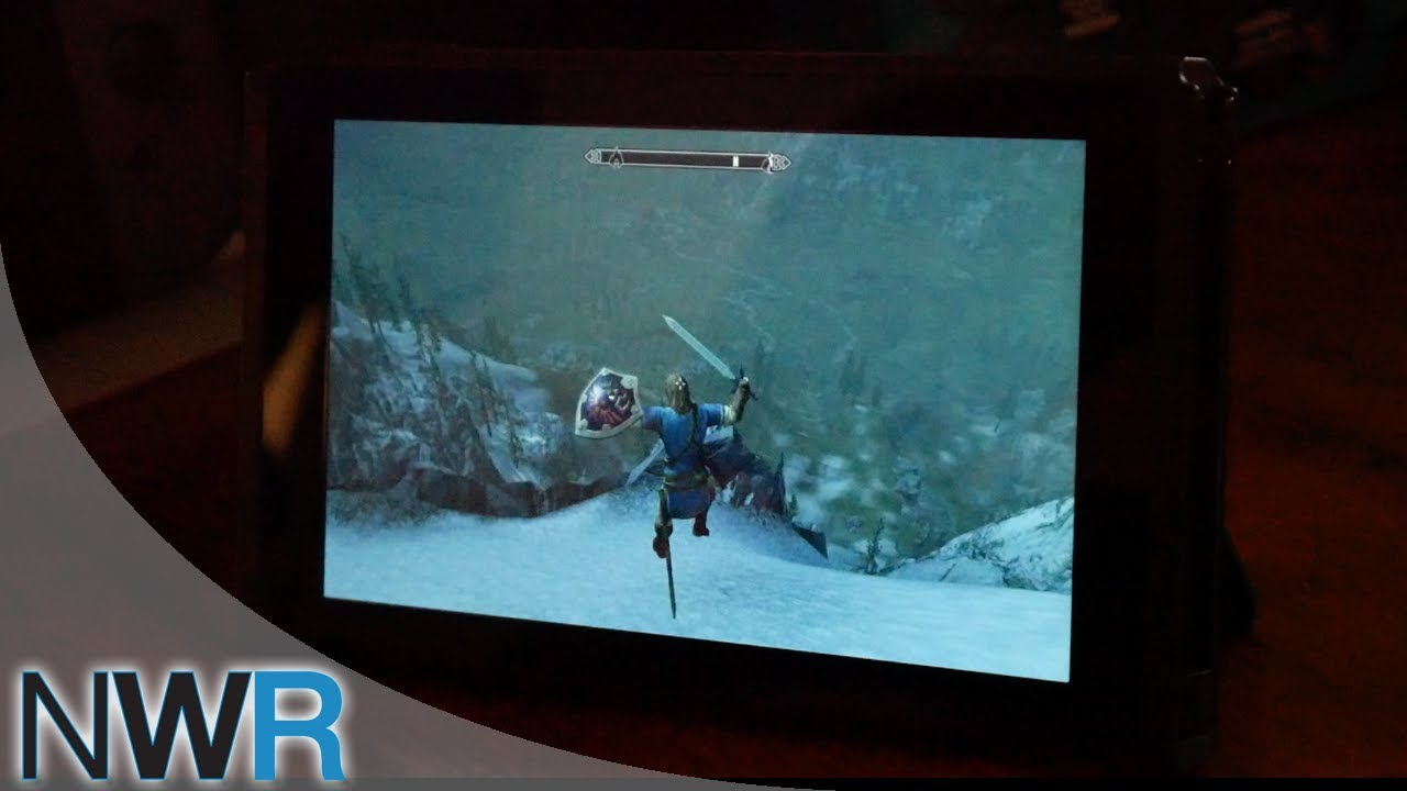 Skyrim (Switch) with Motion Controls