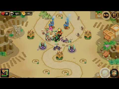 Daily Trial - Sethos World 3(map 2) Difficult 3 - Realm Defense