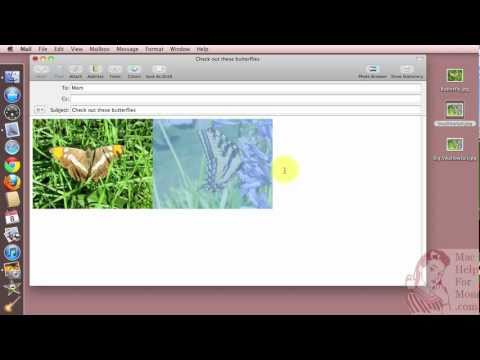 How to attach files to emails in Apple Mail