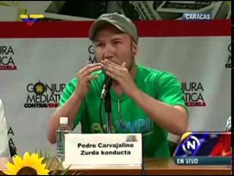 Foro Conjura Mediática: Intervención de Pedro Carvajalino
