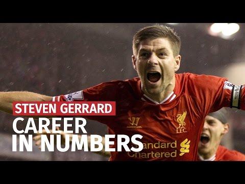 Steven Gerrard Retires - His Career In Numbers