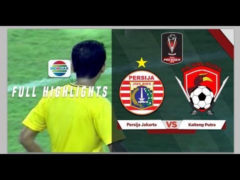 Persija (1) vs (1) Kalteng - Full Highlights & Pinalti (3) vs (4)| Piala Presiden 2019