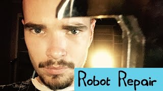 ASMR - Robot Repair - Whisper, Soft Spoken, Lots of Sounds, Tapping, Turning, Twisting!