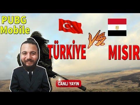 PUBG Mobile TÜRKİYE vs MISIR | Canlı Yayın