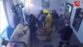 رد فعل سامية الطرابلسي و علاء مرسي بعد الشرارة الأولي و حريق الغرفة