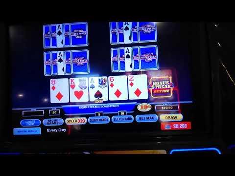 Ultimate X Video Poker Bonus Streak