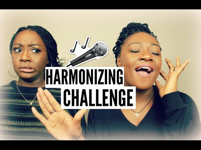 TWIN SISTER HARMONIZING SINGING CHALLENGE!