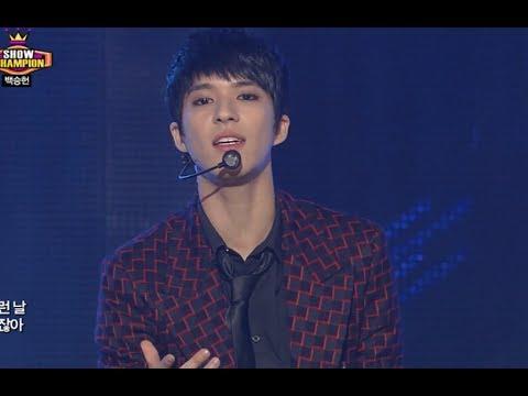 Baek Seung-heon - Wait A Minute, 백승헌 - 웨잇 어 미닛, Show Champion 20131120