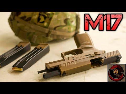 U.S. ARMY NEW SIDEARM - SIG Sauer P320 M17 9mm Pistol |