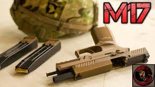 U.S. ARMY NEW SIDEARM - SIG Sauer P320 M17 9mm Pistol  