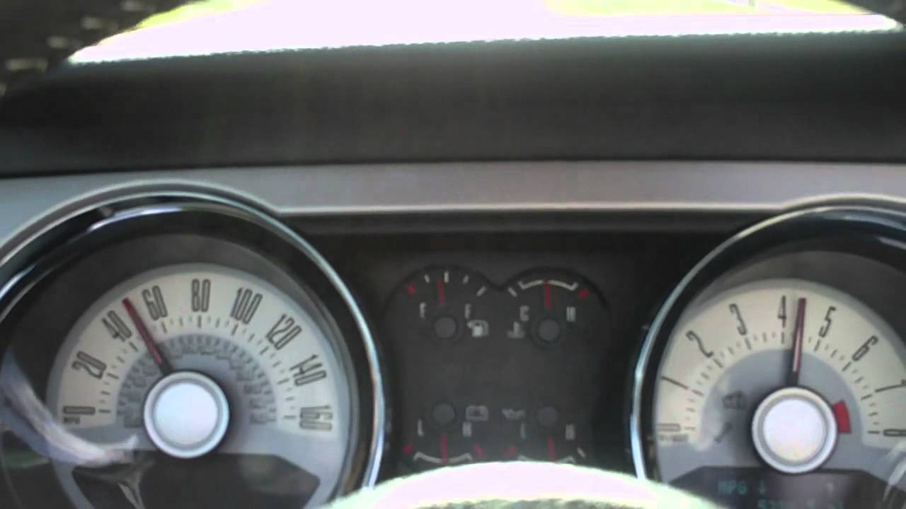 2011 Ford Mustang 3 7l V6 Acceleration 0 60 Mph Youtube