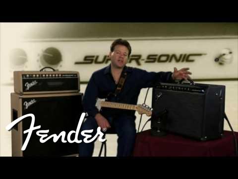 Fender® Super-Sonic™ Amplifier Demo | Fender