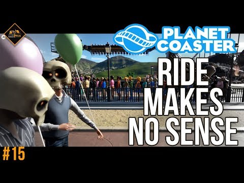 Who designed this ride? Planet Coaster co-op series #15