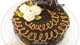 Домашний торт Сникерс  Пошаговый рецепт с фото