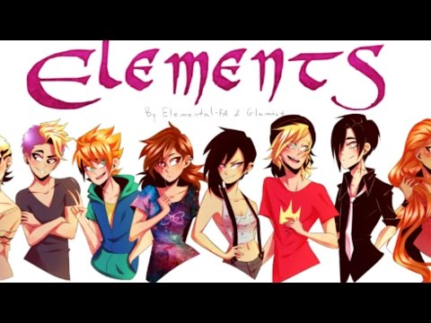ELEMENTS (Web comic by Elemental-FA & Glamist) - Speedpaint