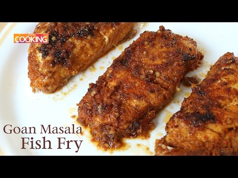 Goan Masala Fish Fry | Non-veg Starters | Ventuno Home Cooking