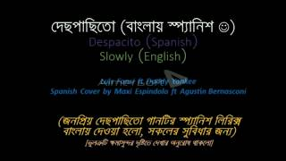 Despacito-English and Bangla Lyrcis with karaoke version