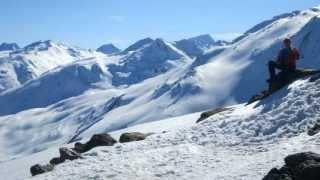 Wildspitze mit Schneeschuhen April 2013