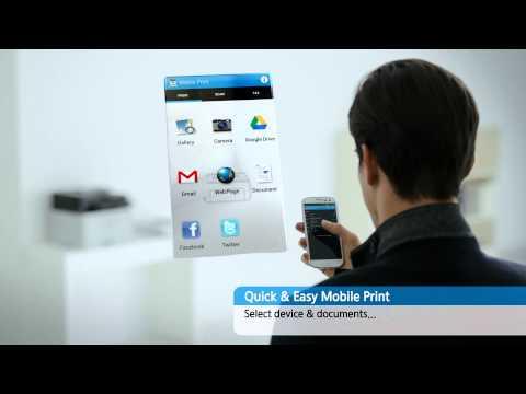 Samsung Mobile Print- Quick & Easy Mobile Print