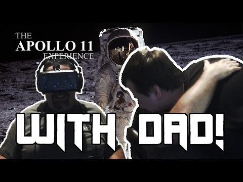 My Dad's reaction to VR, and the Apollo 11 demo. This is how powerful VR can be