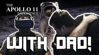 Tears of Joy - My Dad w/Oculus Rift DK2 and Apollo 11 VR