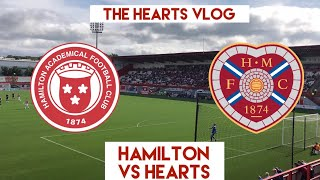 TOP OF THE LEAGUE!!! | Hamilton VS Hearts | The Hearts Vlog Season 4 Episode 4