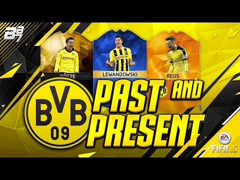 PAST AND PRESENT DORTMUND SQUAD BUILDER! | FIFA 16
