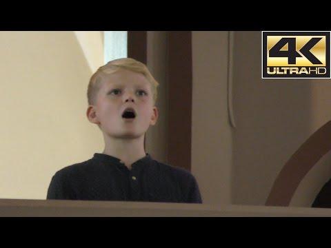 How beautiful are the feet (Handel) | boy soprano Aksel Rykkvin (12y) & Vegar Sandholt (organ)