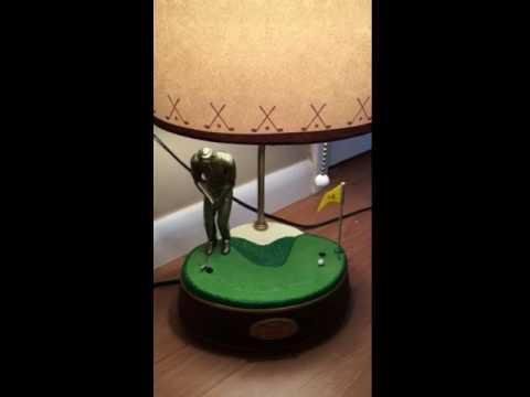 Animated Golf Lamp