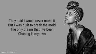 Alicia Keys - Underdog (Lyrics)
