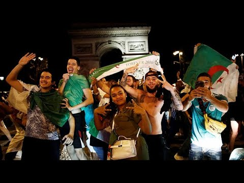 شاهد: احتفالات باريسية -مجنونة- لمشجعي المنتخب الجزائري بعد الفوز باللقب…  - نشر قبل 28 دقيقة
