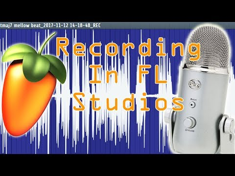FL Studios How to Set Up and Record Using Your (USB) Blue Yeti Mic