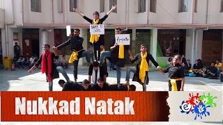 award winning nukkad natak pagal nahibimar tha at iim calcutta enteract club nit durgapur