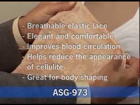 ac1d35c64b GABRIALLA® Abdominal   Back Support Girdle  ASG-973 - YouTube
