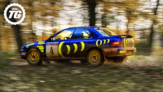 EXTENDED: Chris Harris vs Colin McRae's WRC Subaru Impreza | Top Gear