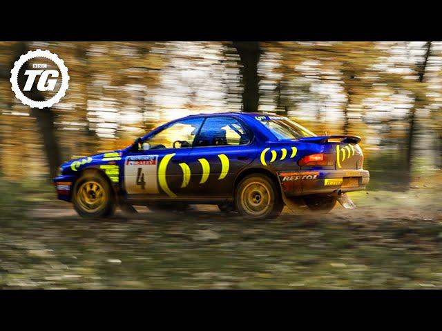EXTENDED: Chris Harris vs Colin McRae's WRC Subaru Impreza | Top Gear