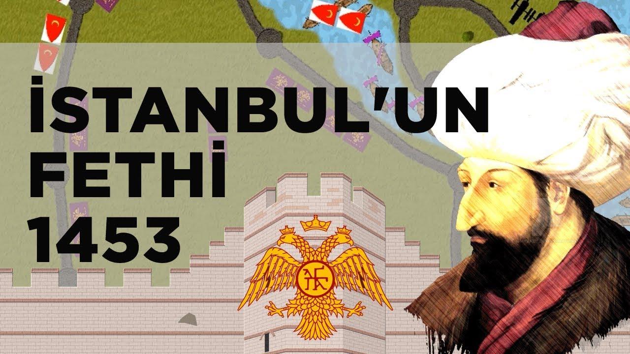 İSTANBUL'UN FETHİ 1453 || 2D Savaş || Osmanlı-Doğu Roma