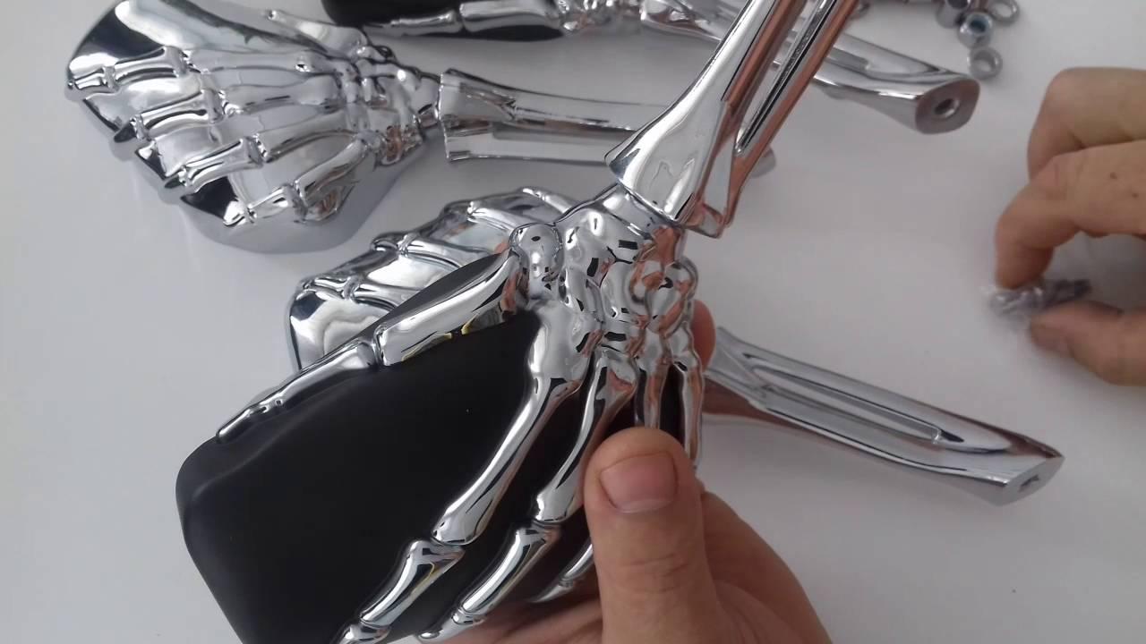 Зеркала заднего вида для мотоцикла велосипеда мопеда и автомобиля .