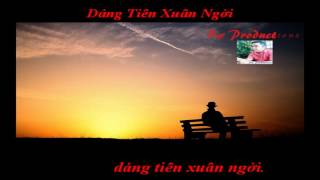 Dáng Tiên Xuân Ngời - Lam Anh, Tóc Tiên Karaoke Full HD