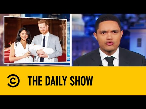 Trevor Noah Nails The British Accent | The Daily Show with Trevor Noah