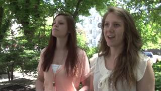 UQAM.tv   Deux étudiantes en séjour d