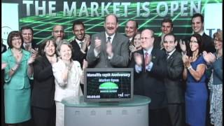 Manulife Financial Corporation 125th anniversary opens Toronto Stock Exchange, June 22, 2012