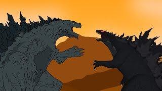 Godzilla Earth vs Legendary Godzilla | Godzilla Size Comparisons