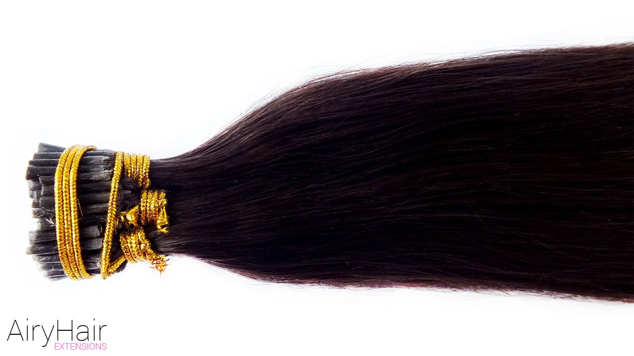 Remy Stick I Tip Hair Extensions 16 To 24 Reveal Youtube
