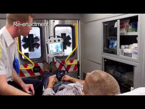 "TV Special part 2 Telestroke Xpress in the Ambulance – ""Stroke: Every Second Counts"" on PIX11 TV"