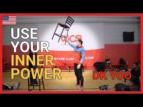 Use your inner power - DK Yoo