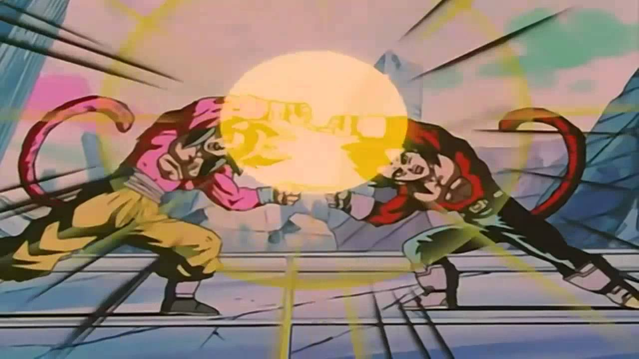 Download Goku & Vegeta ~ Fuse ~ Gogeta SSJ4 [HD] ~ Dragon Ball GT