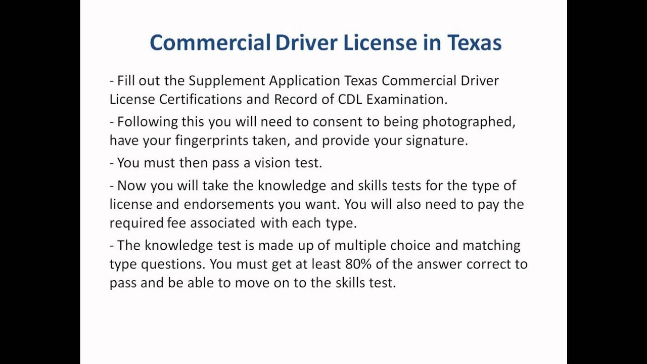 Texas drivers license requirements for 18 year olds