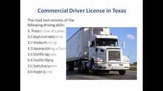 How to Get a CDL in Texas - Commercial Drivers License in TX