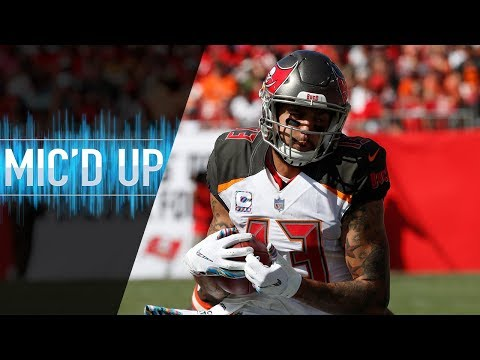 "Mike Evans Mic'd Up vs. Browns ""I Launched Him"" 